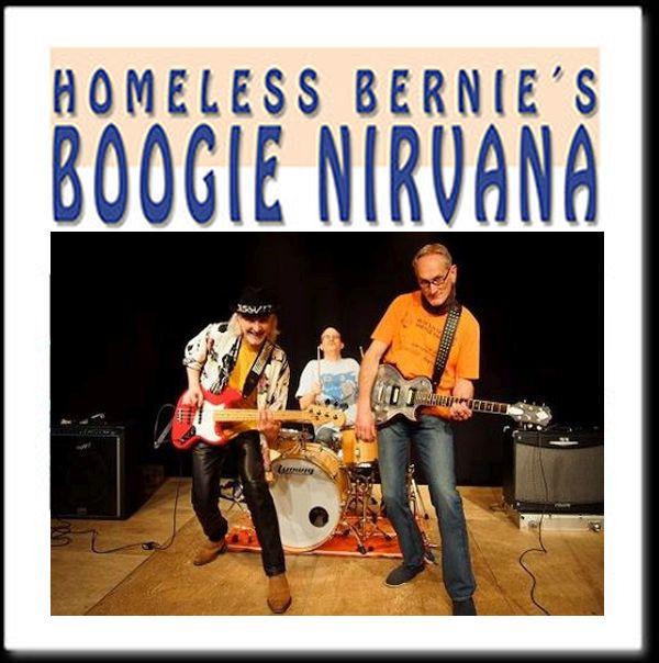 Homeless Bernie's Boogie Nirvana Werbebild