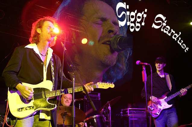 Siggy Stardust alias Hans Pramberger und Band