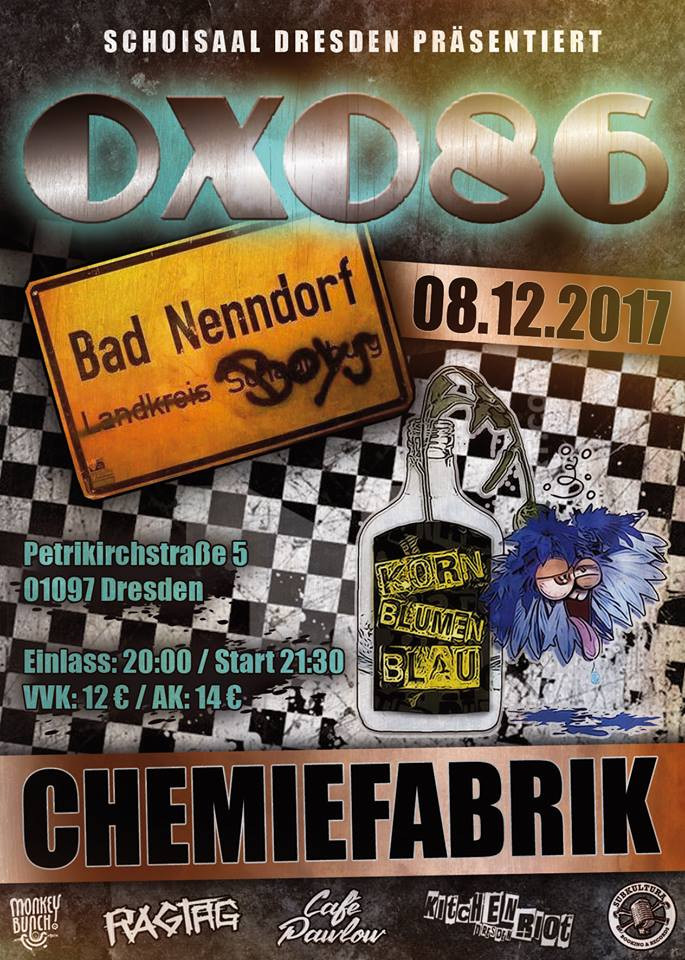 OXO 86, Bad Nenndorf Boys, Kornblumenblau