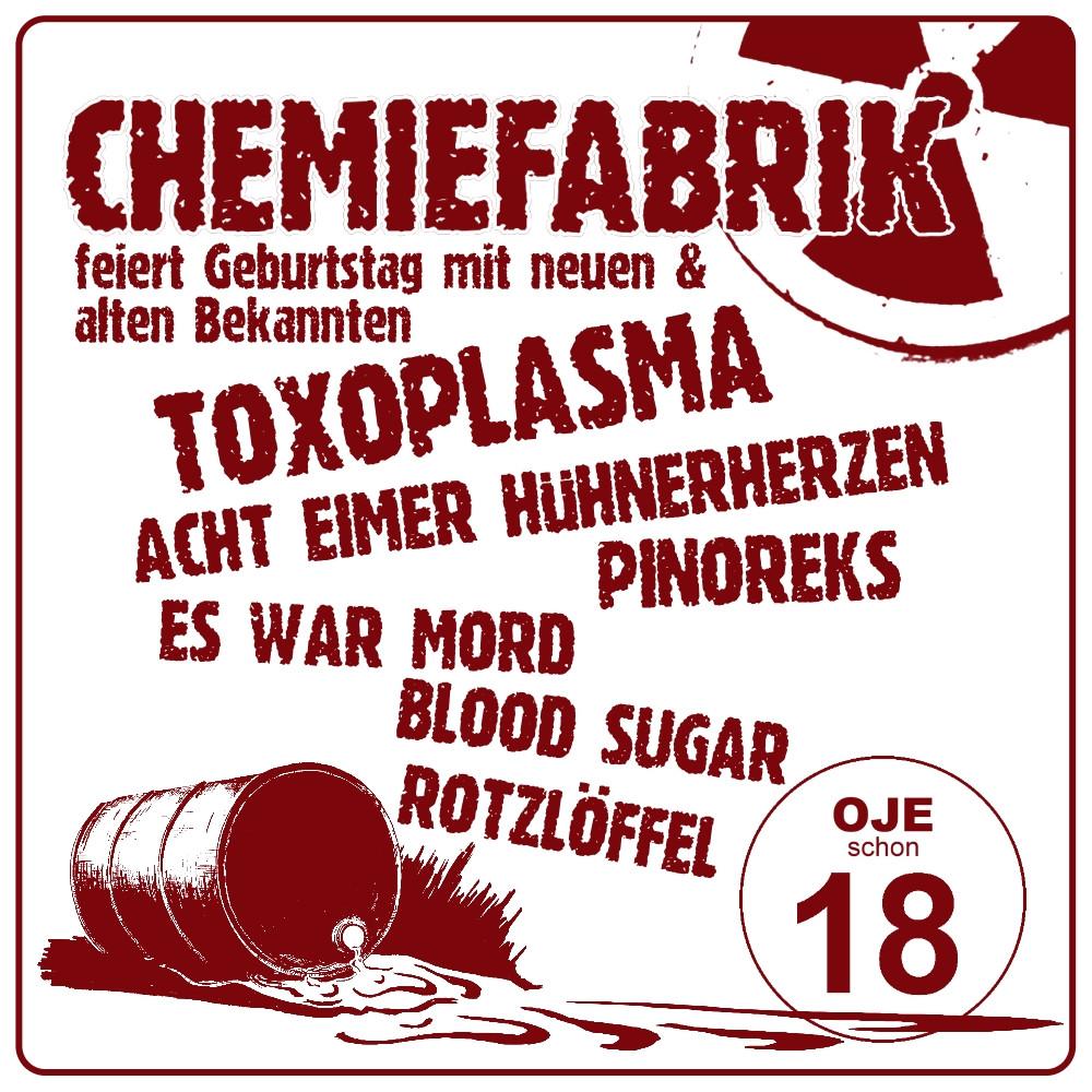 18 Jahre Chemiefabrik