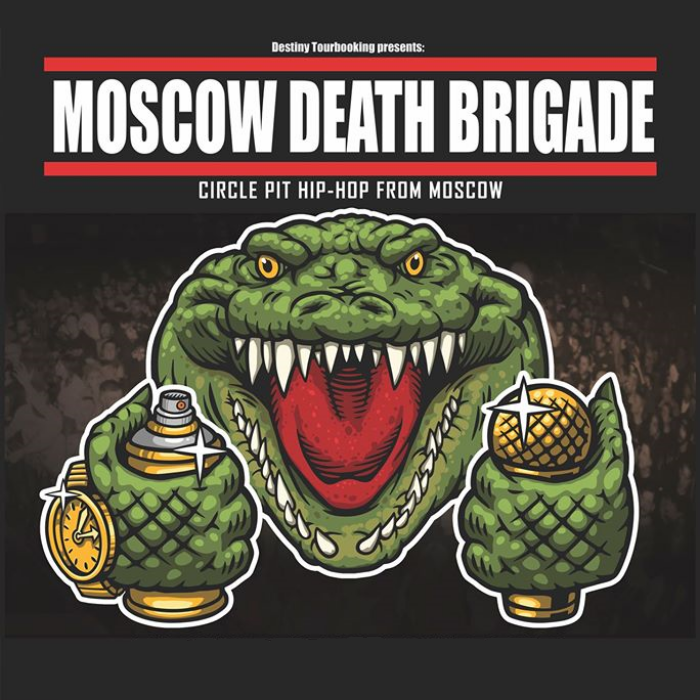 11.05.20 Dresden, Chemiefabrik - Moscow Death Brigade + Special Guests
