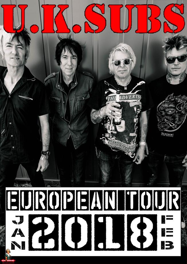 UK Subs Tourposter