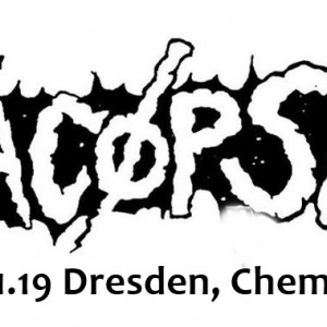 Yacoepsae, Optimist, Wojczech, Extinct / 01.11.19 Dresden, Chemiefabrik