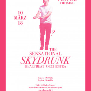 Skydrunk Live @ Furtner Freising, Support: Charlotte Campbell ( London, UK )