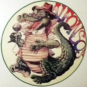 Unser Maskottchen - Alfonso das Krokodil