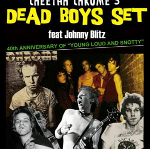 Cheetah Chrome's Dead Boys-Set