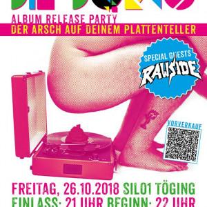 """DIE DORKS Albumreleaseparty """"Der Arsch auf deinem Plattenteller"""" mit Special Guest RAWSIDE"""