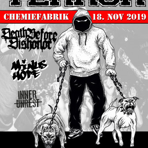 Terror, Death Before Dishonor, Minus Hope, Inner Unrest - Chemiefabrik Dresden